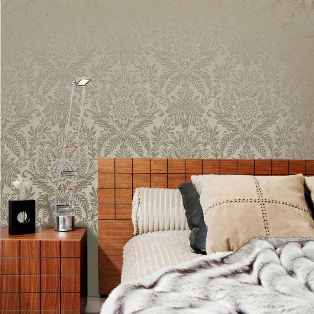 Crown Signature Leaf Biscuit M1066 Wallpaper